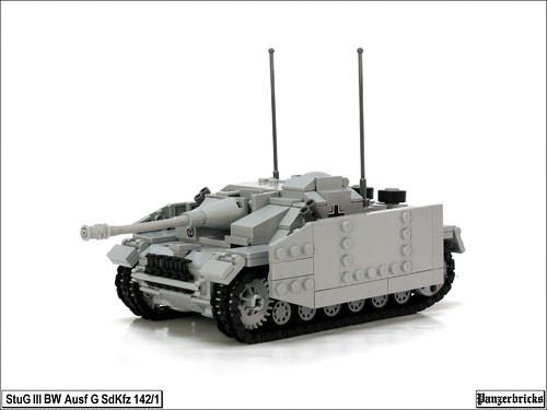 Sturmgeschütz III Befehlswagen Ausf G SdKfz 142/1 de Panzerbricks