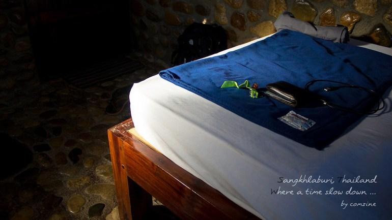 ห้องนอน P Guest House - สังขละบุรี