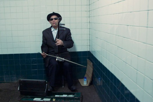 New York City :  Blind Musician