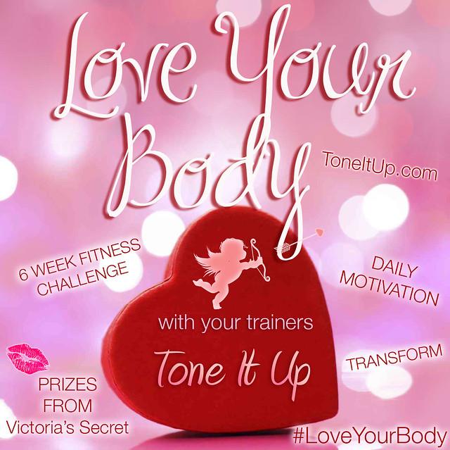 Tone It Up TIU Love Your Body Challenge