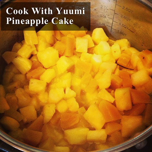 how to cook pineapple on the stove