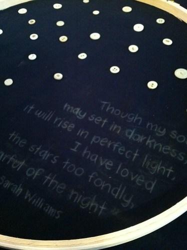 Jan: stars embroidery