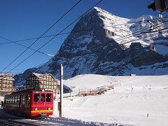 Train to Jungfraujoch from Kleine Scheidegg