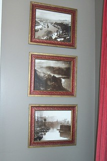 Frank Meadow Sutcliffe photos that we framed - bought in Whitby at the Sutcliffe Gallery.