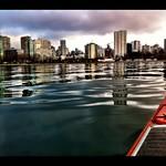 Downtown kayaking