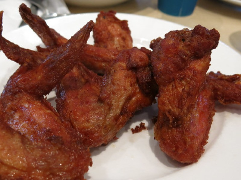 Chicken Wings at Ikea