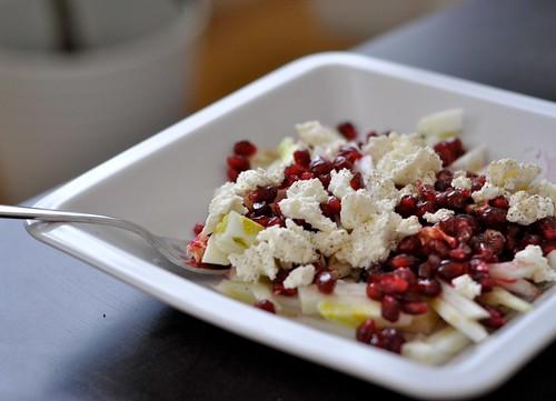 Fenchel-Granatapfel-Feta-Salat