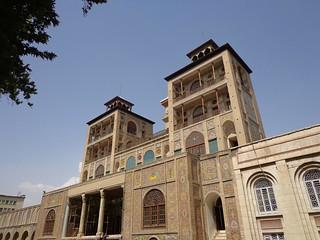 Palacio Golestan em Teerao