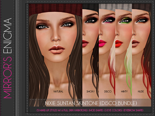 Nixie Suntan Skintone (Disco Bundle)