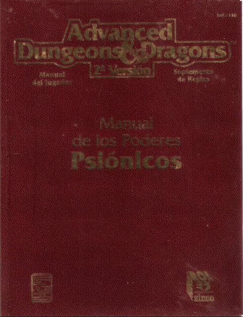 Manual de los Poderes Psionicos