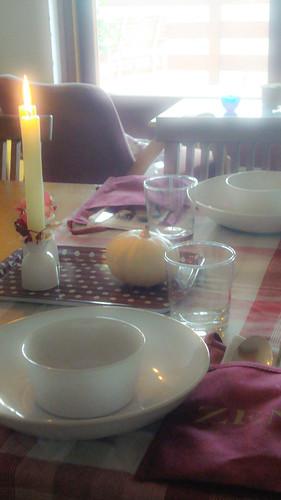 Cremy cauliflower with Kumin/almonds - Vellutata di cavolfiore con cumino/mandorle
