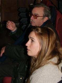 José Luís durante el ensayo