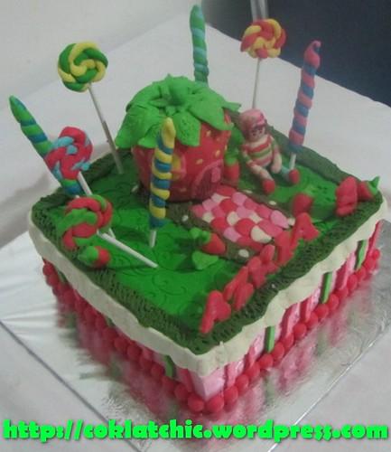 Cake Strawberry Shortcake