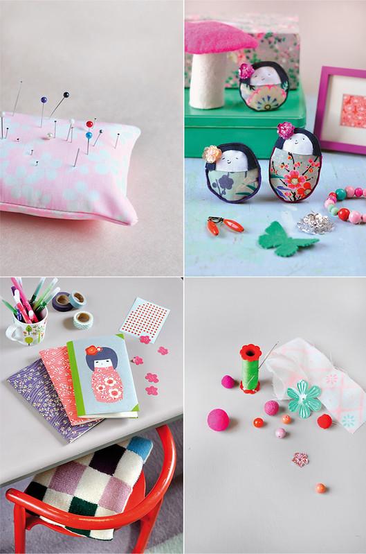 Book Love & DIY Project: Mes petites Kokeshi