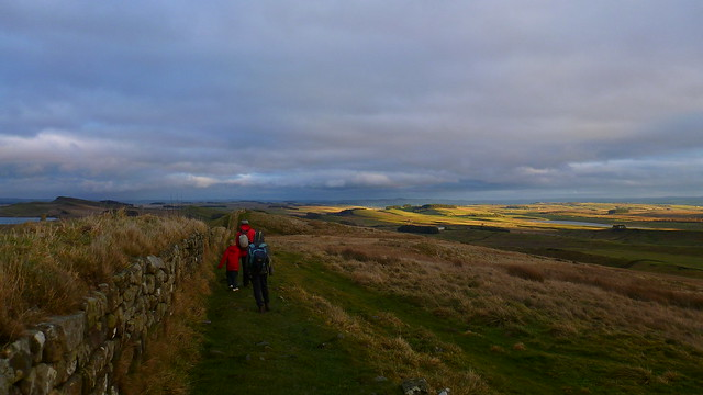 Hadrians Wall, Hotbank Crags