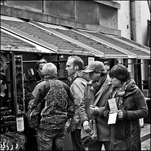 Prag / Touristen /