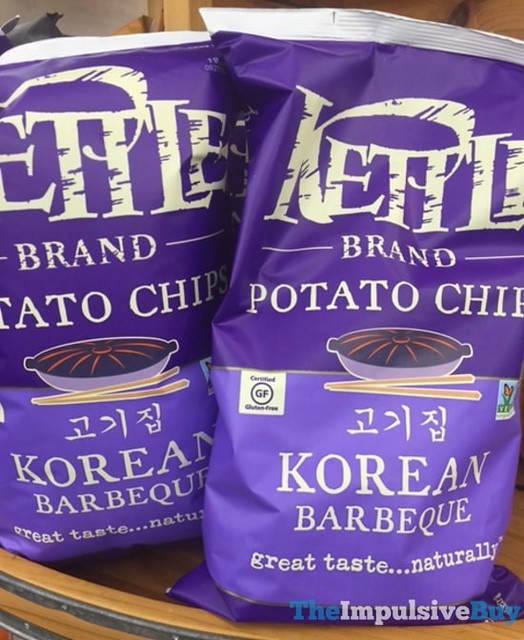 Kettle Brand Korean Barbeque Potato Chips