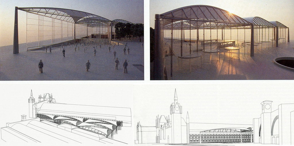 Kings Cross Master Plan by Norman Foster