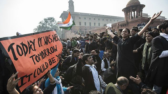 Delhi Gang-rape protest pictures (4)