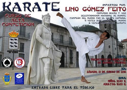 Curso de Karate: Lino Gómez Feito