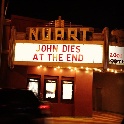 Spoiler alert!  #santamonica #california #iphone4s #movie #theater #vintage #icvintage by Obsessive Hobbyist
