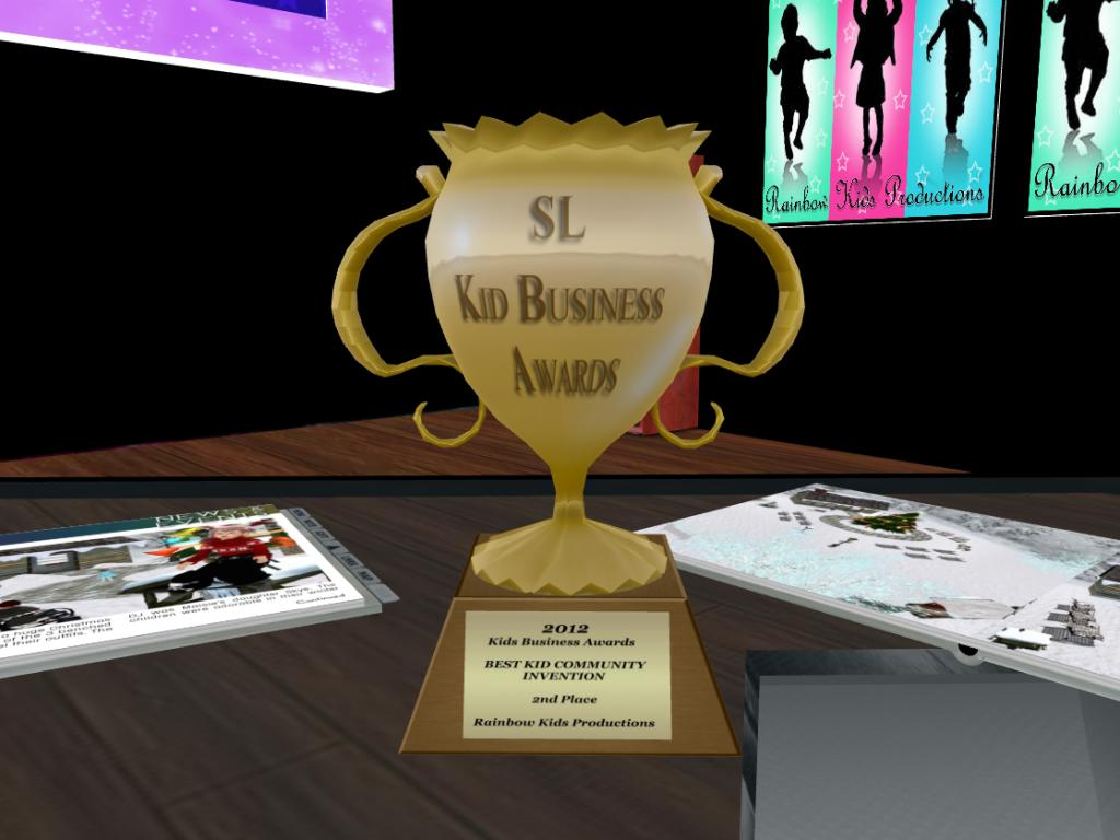 2nd Place - Best Kid Community Invention - Rainbow Kids Productions