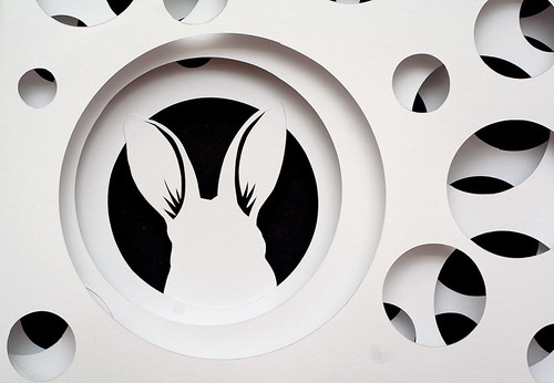Paper Cut Work- Down the Rabbit Hole-8