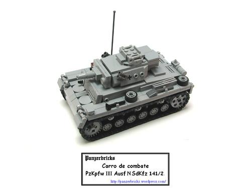 Panzer III Ausf N de Panzerbricks