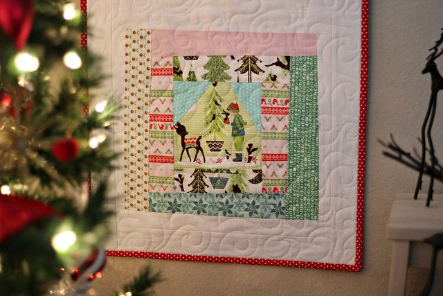 Alpine Wonderland Table Runner