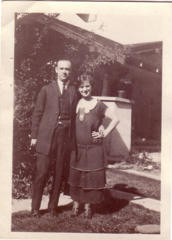Aunt Rose and 1st husband Ben Naiman