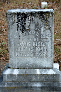 Keziah, Wife of Javis - Ebenezer Methodist