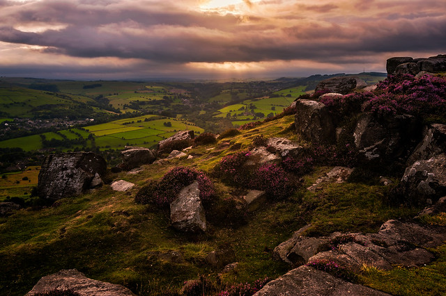 Curbar Edge_070810_0160 Sunset