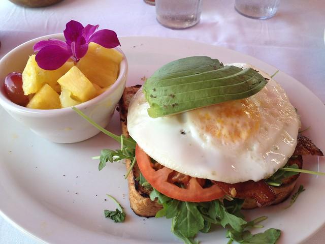 Waipi'o stack breakfast - Island Lava Java