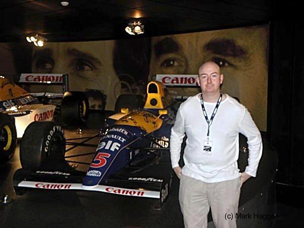 Nigel Mansell's Championship winning FW14b
