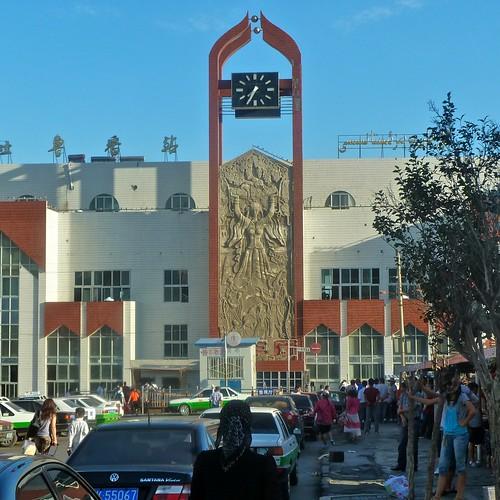 Daheyan Railway Station, Xinjiang