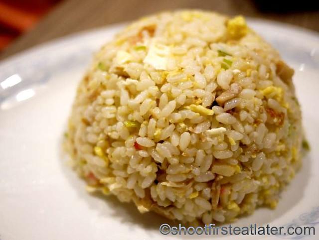 Japanese fried rice P170