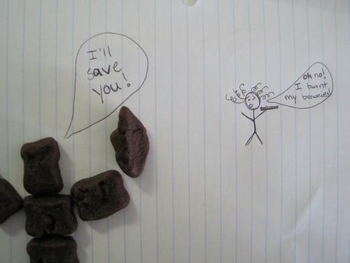 Special K Fudge Brownie Bites  Brownie Man Saves the Day!