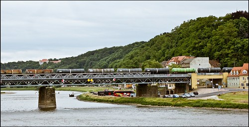 Eisenbahnbrücke Meißen II