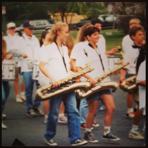 Saxophone Flashback
