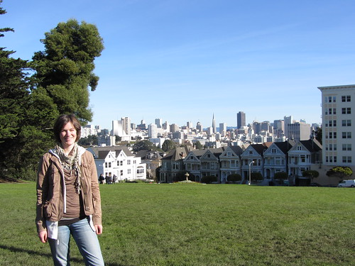 lena in alamo square