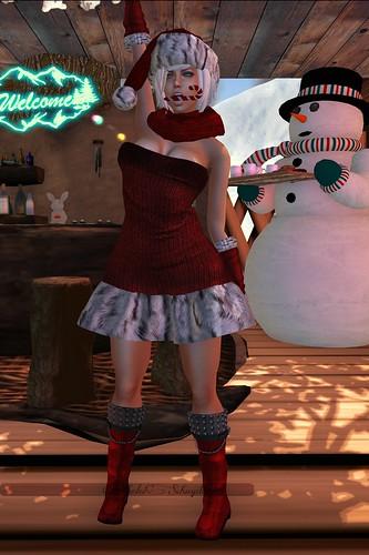Xmassy doll avatar