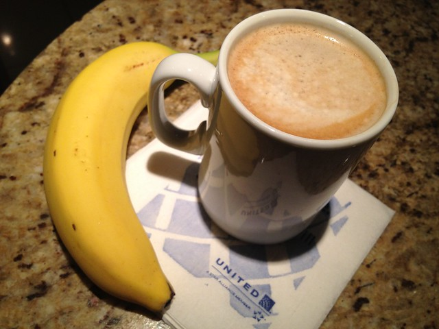 Banana and coffee - Red Carpet Club