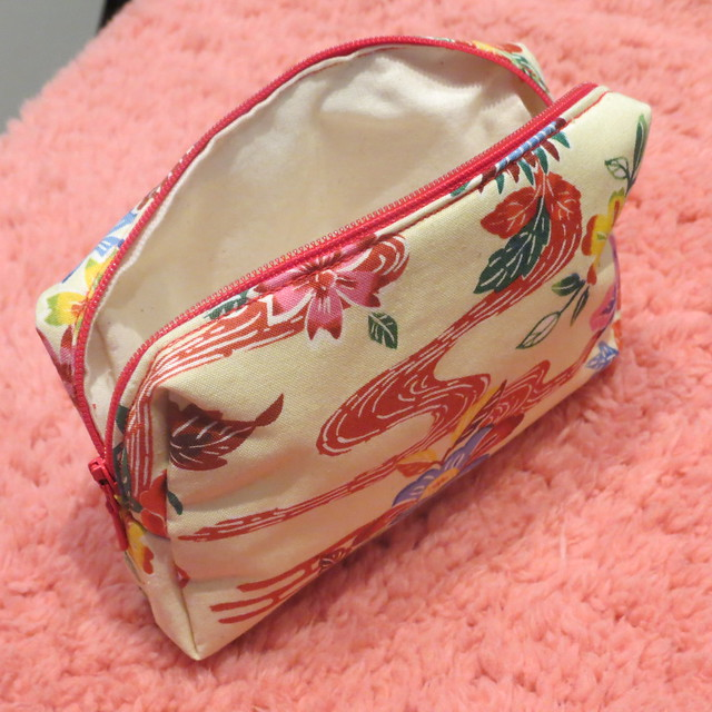 Japanese fabric purse