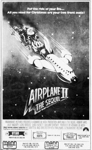 Airplane II ad 1