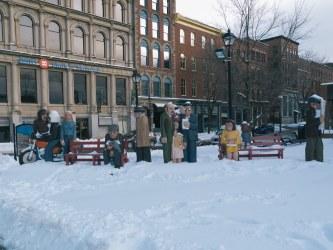 John Hooper Statues on King Street