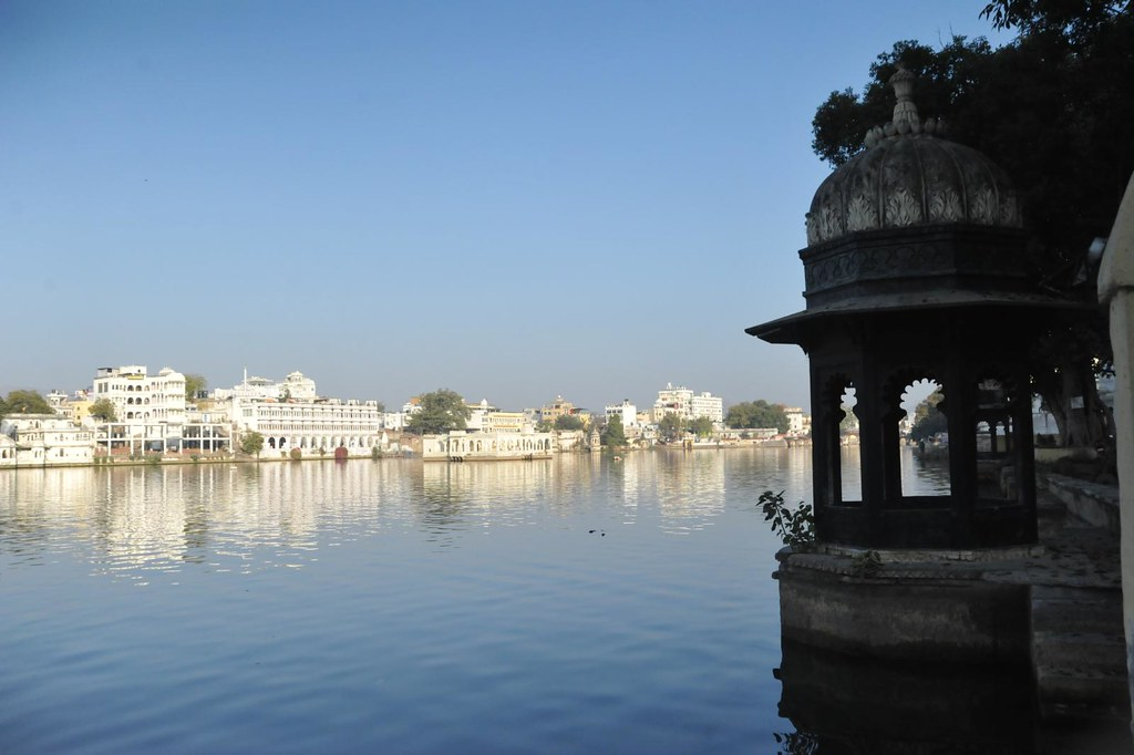 View of Udai Sagar Lake, Udaipur