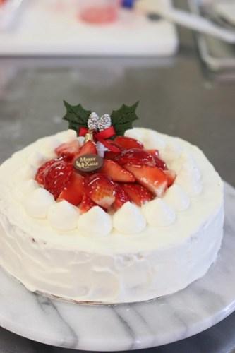 2012年12月「苺のクリスマスケーキ」