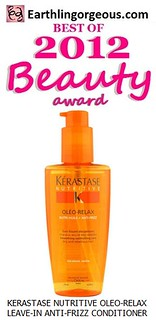 EG Beauty Awards 2012 Kerastase Nutritive OleoRelax LeaveIn