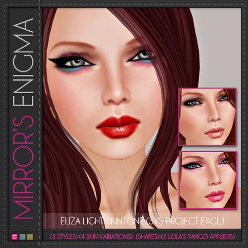 Mirror's Enigma -- Eliza Light Skin
