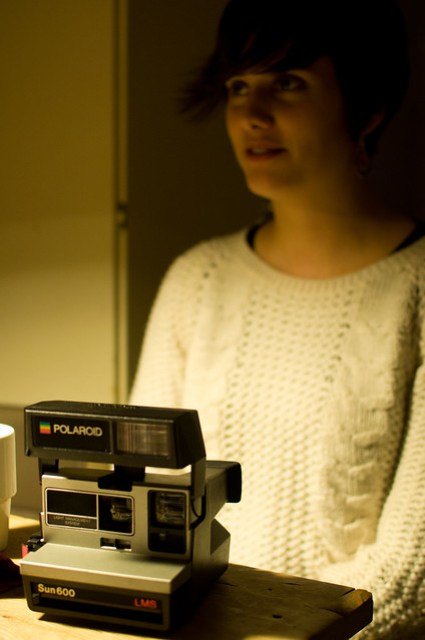 Lily and the Polaroid
